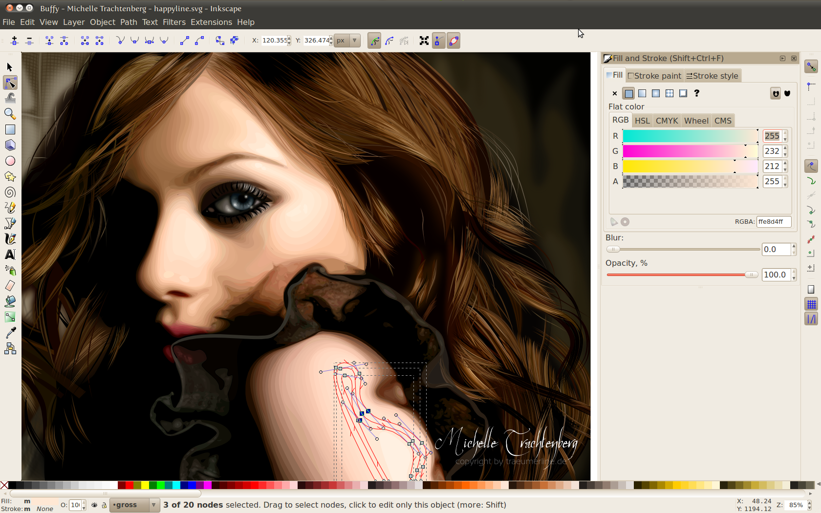 Inkscape freeware screenshot