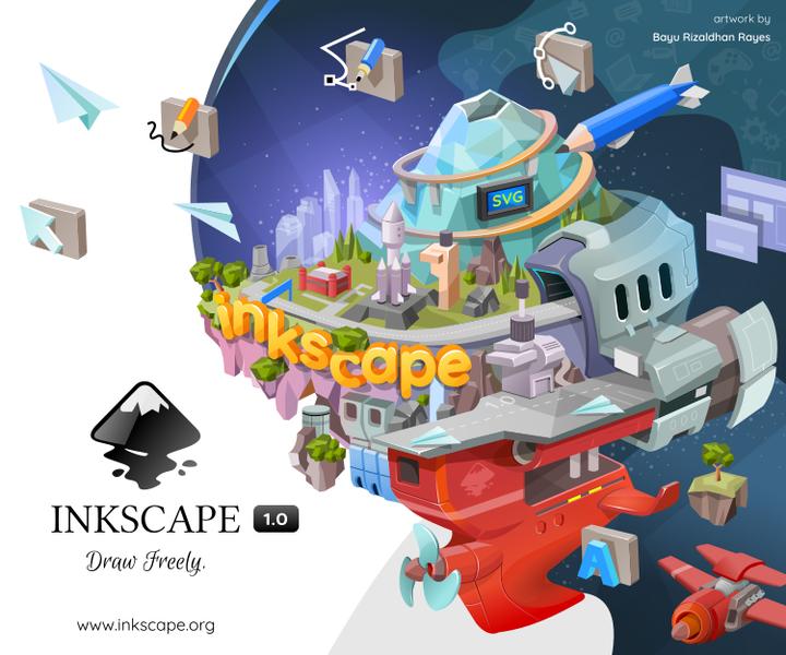 Inkscape banner