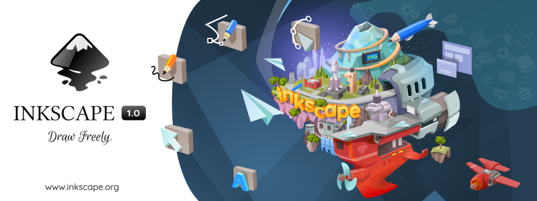 Sortie d'Inkscape 1.0